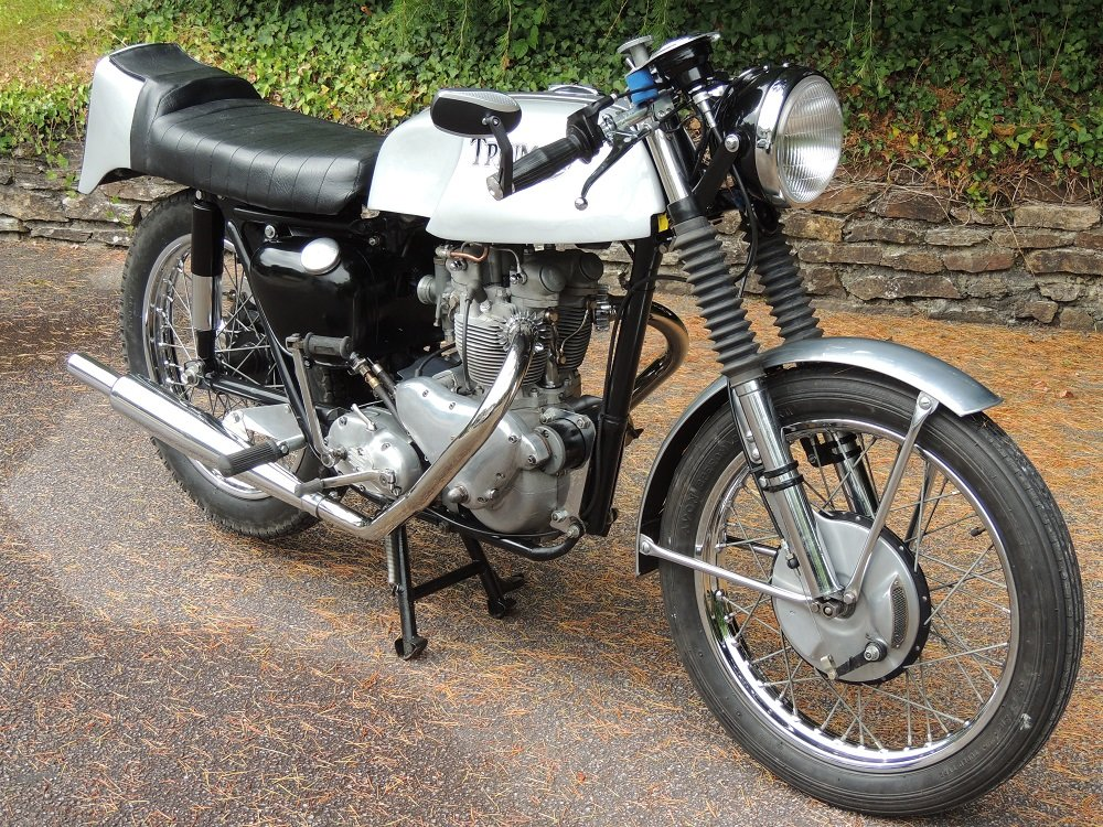 1956 Triumph T100 Cafe Racer For Sale (picture 1 of 4)