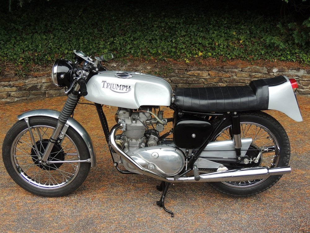 1956 Triumph T100 Cafe Racer For Sale (picture 2 of 4)