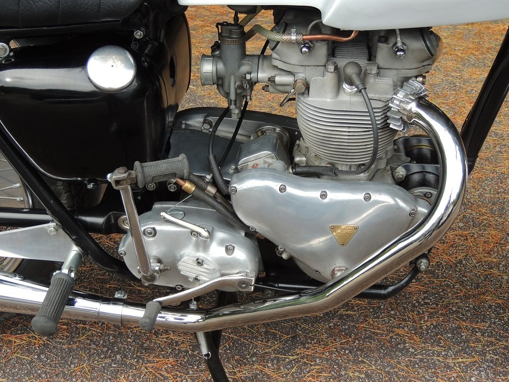 1956 Triumph T100 Cafe Racer For Sale (picture 4 of 4)
