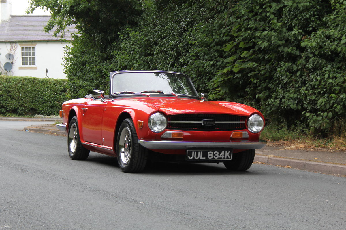 1971 Triumph TR6 PI 150 BHP For Sale (picture 1 of 12)