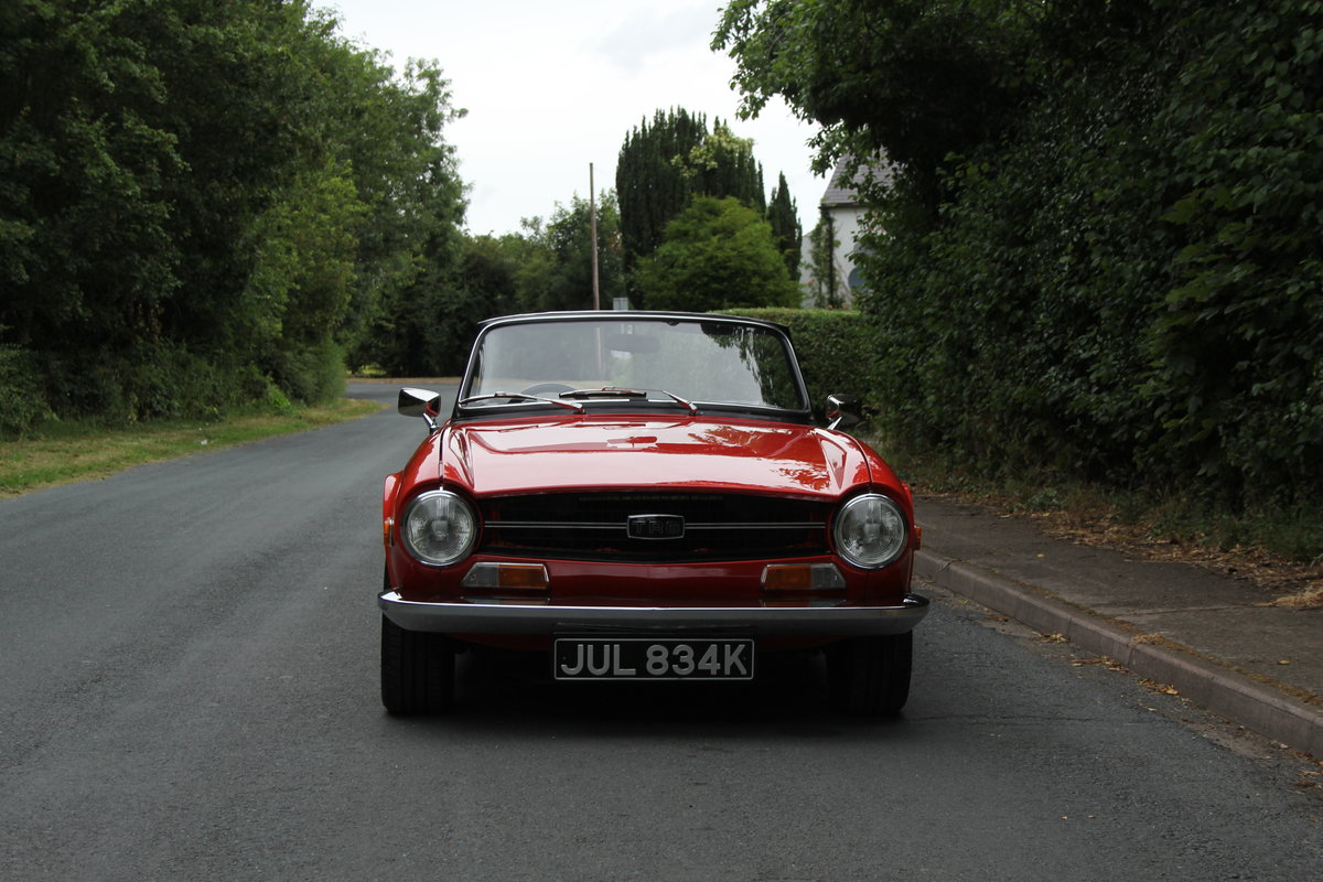 1971 Triumph TR6 PI 150 BHP For Sale (picture 2 of 12)