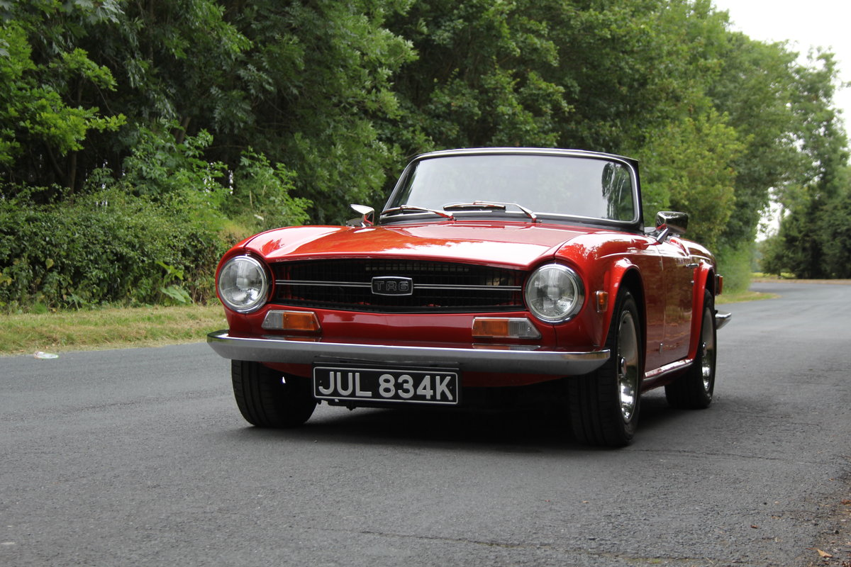 1971 Triumph TR6 PI 150 BHP For Sale (picture 3 of 12)