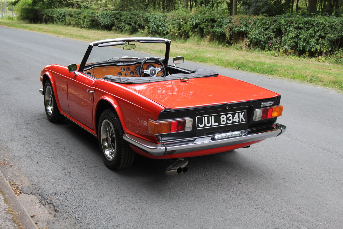 1971 Triumph TR6 PI 150 BHP For Sale (picture 4 of 12)