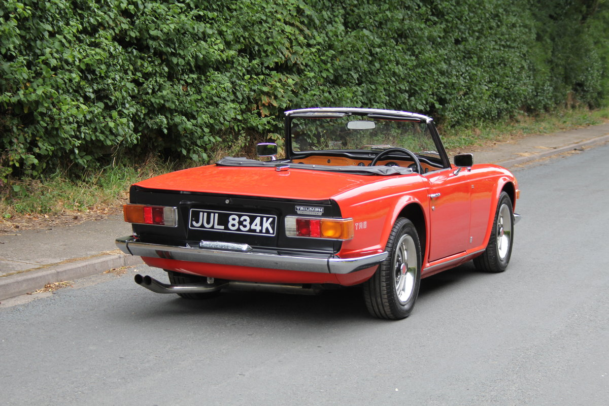 1971 Triumph TR6 PI 150 BHP For Sale (picture 5 of 12)