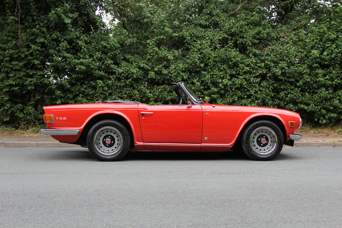 1971 Triumph TR6 PI 150 BHP For Sale (picture 6 of 12)