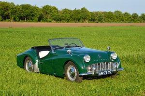 1959 Triumph TR3A older restoration