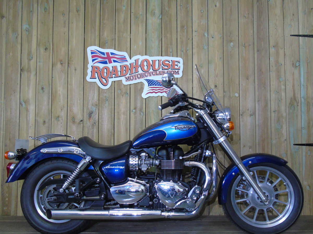 2008 Triumph Bonneville America Only 7900 Miles UK Delivery For Sale (picture 1 of 6)