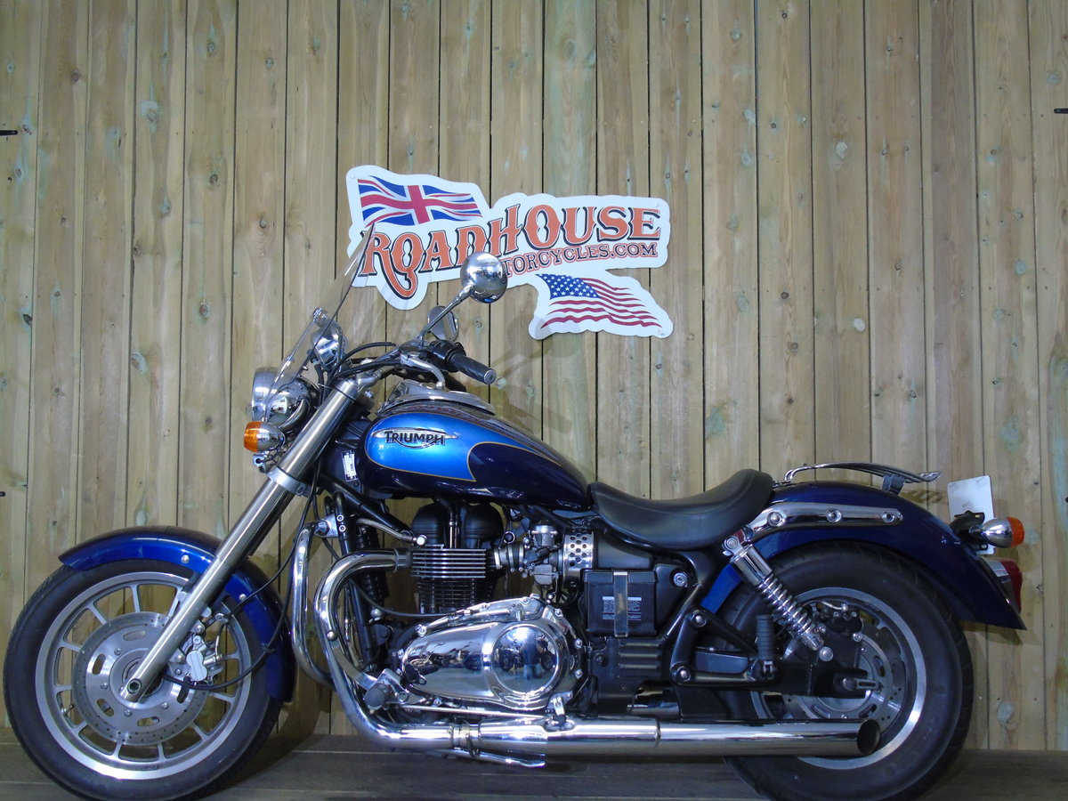2008 Triumph Bonneville America Only 7900 Miles UK Delivery For Sale (picture 2 of 6)