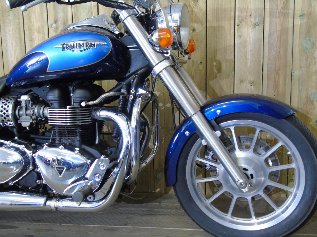 2008 Triumph Bonneville America Only 7900 Miles UK Delivery For Sale (picture 3 of 6)