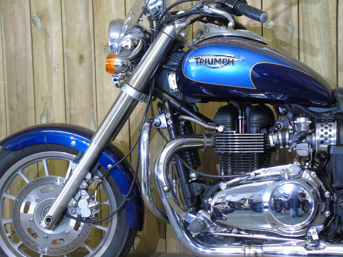 2008 Triumph Bonneville America Only 7900 Miles UK Delivery For Sale (picture 4 of 6)