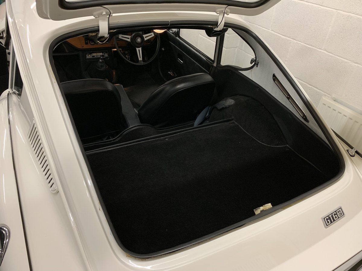1971 1 Family Owned Triumph GT6 MK3 Low Miles SOLD (picture 6 of 6)