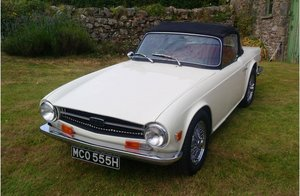 1970 TR6 CP Overdrive For Sale