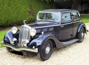 1937 Triumph 14/60 Vitesse. NOW SOLD.ALL CLASSICS WANTED For Sale