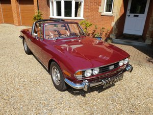 1972 Triumph Stag Mk1 Original V8 Manual OD SOLD