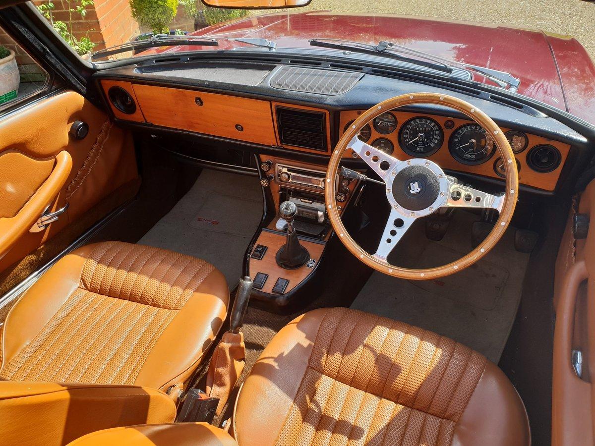 1972 Triumph Stag Mk1 Original V8 Manual OD For Sale (picture 5 of 6)