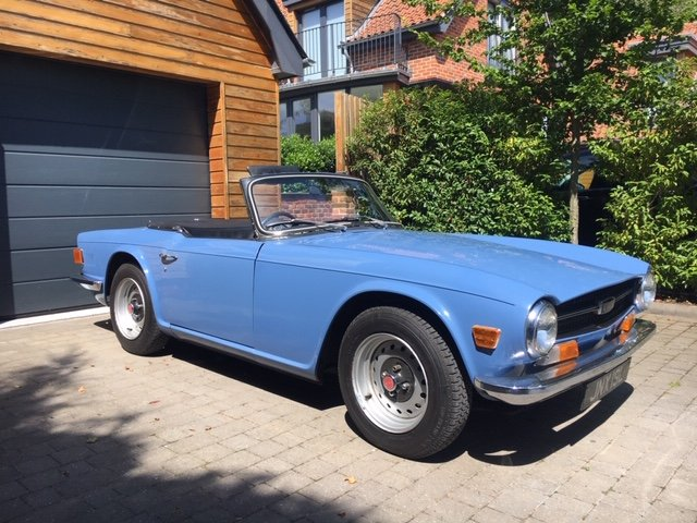 1972 CP150 TR6 For Sale (picture 1 of 6)