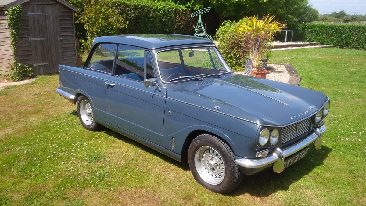 1966 Vitesse Mk1 2.0 Overdrive NOW SOLD. SOLD (picture 2 of 6)