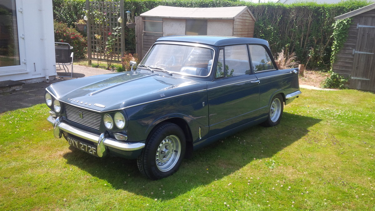 1966 Vitesse Mk1 2.0 Overdrive NOW SOLD. SOLD (picture 3 of 6)