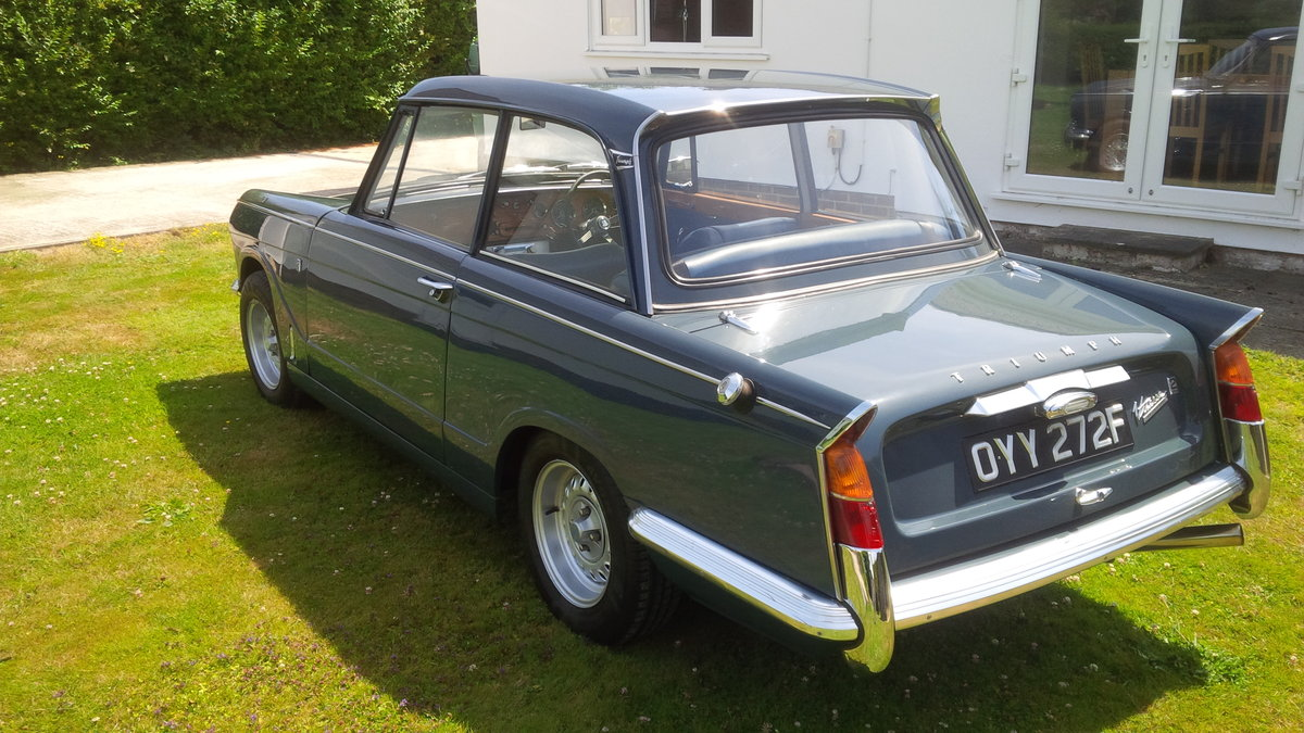 1966 Vitesse Mk1 2.0 Overdrive NOW SOLD. SOLD (picture 4 of 6)