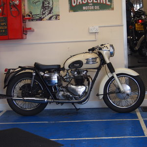 1962 T110 650cc Ride Away Today, Matching Numbers. For Sale