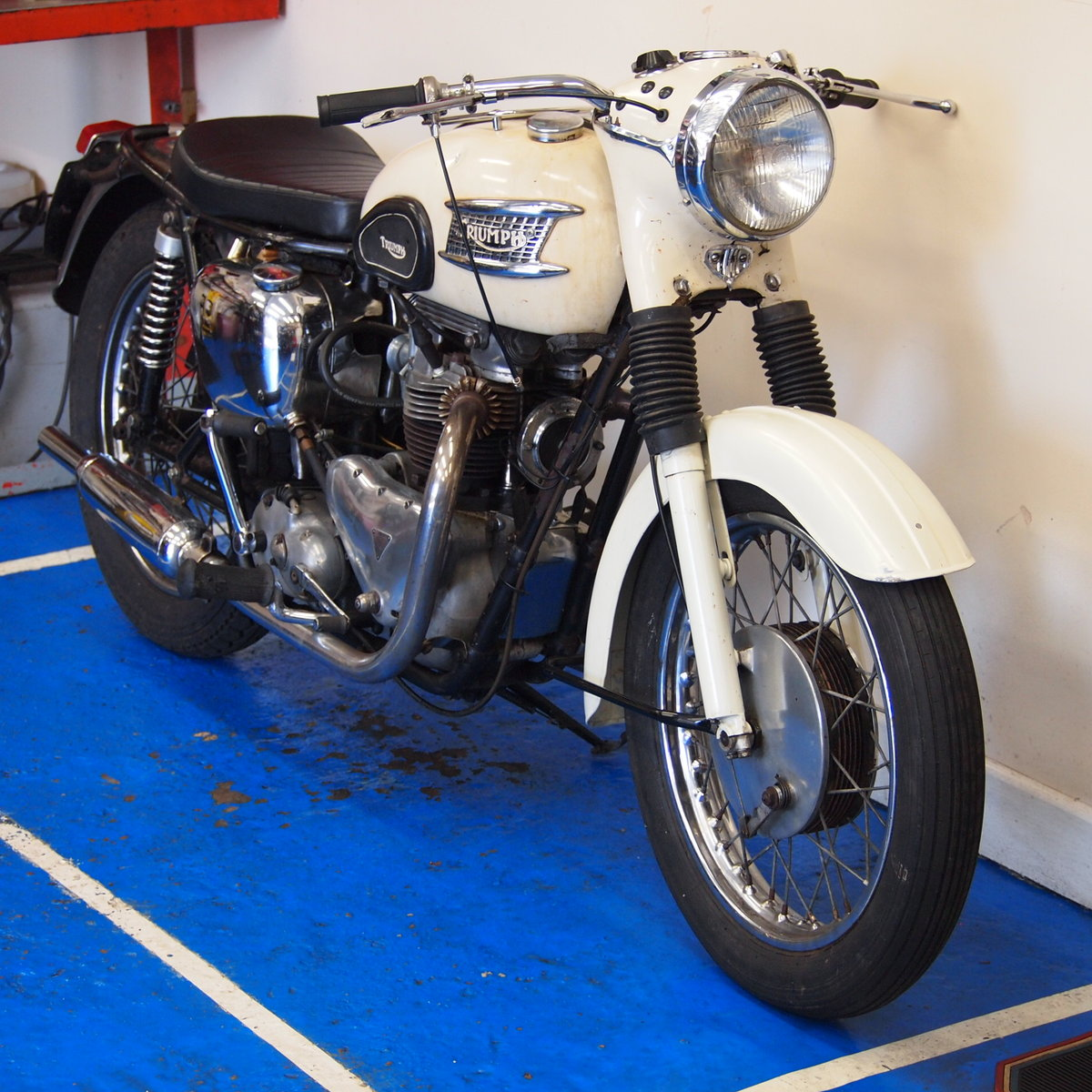 1962 T110 650cc Ride Away Today, Matching Numbers. For Sale (picture 6 of 6)