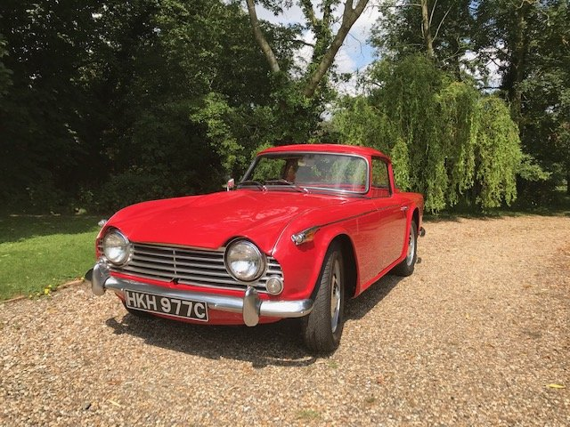 1965 Superb TR4A IRS SOLD (picture 2 of 6)