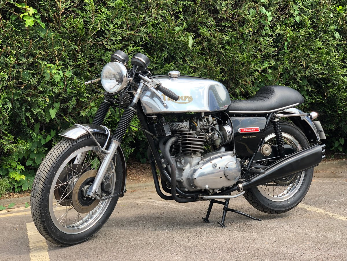 Awesome 1975 Triumph Trident T150 750cc Cafe Racer!!! For Sale (picture 1 of 6)