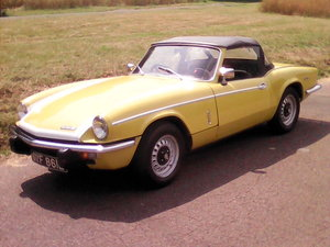 1972 Triumph Spitfire MK4 - Drives like new