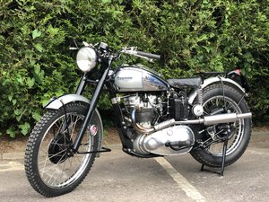 1952 Triumph TR5 Trophy 500cc A Glorious Machine! For Sale