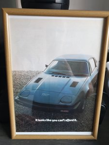 Original 1976 Triumph TR7 Advert