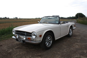 TR6 1972. ORIGINAL UK 150BHP CAR WITH OVERDRIVE SOLD