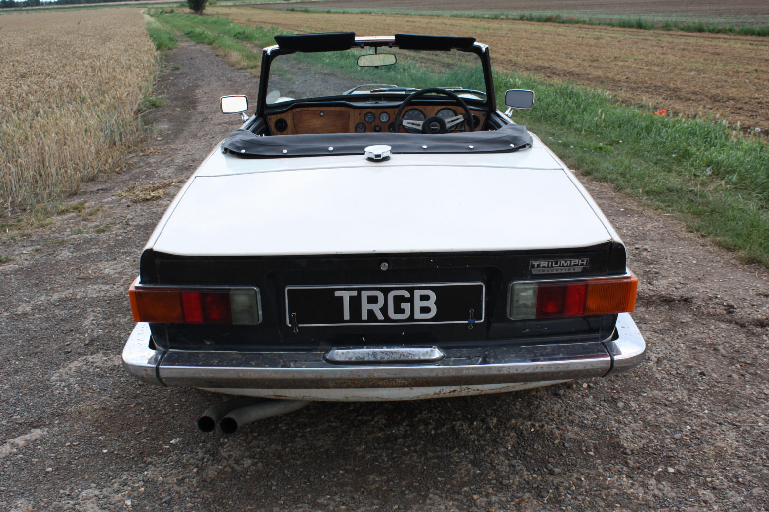 TR6 1972. ORIGINAL UK 150BHP CAR WITH OVERDRIVE SOLD (picture 6 of 6)