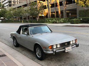 1971 Triumph Stag Mk1 For Sale