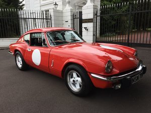 TRIUMPH GT6 MK3 WITH OVERDRIVE FULLY RESTORED