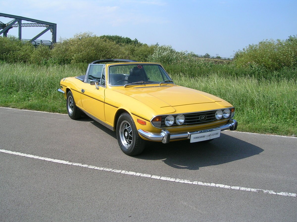 1976 Triumph Stag 3 Litre V8 Convertible Historic Vehicle For Sale (picture 2 of 6)
