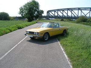 1976 Triumph Stag 3 Litre V8 Convertible Historic Vehicle For Sale