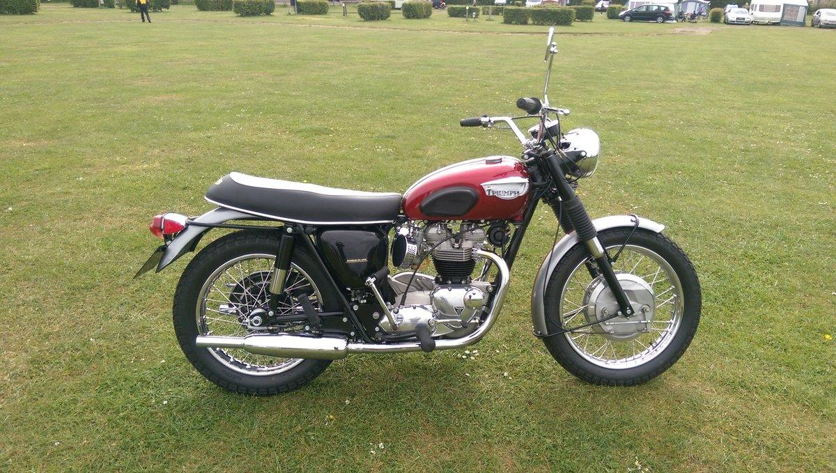 1968 Triumph bonneville 650cc t120r us spec For Sale (picture 1 of 6)