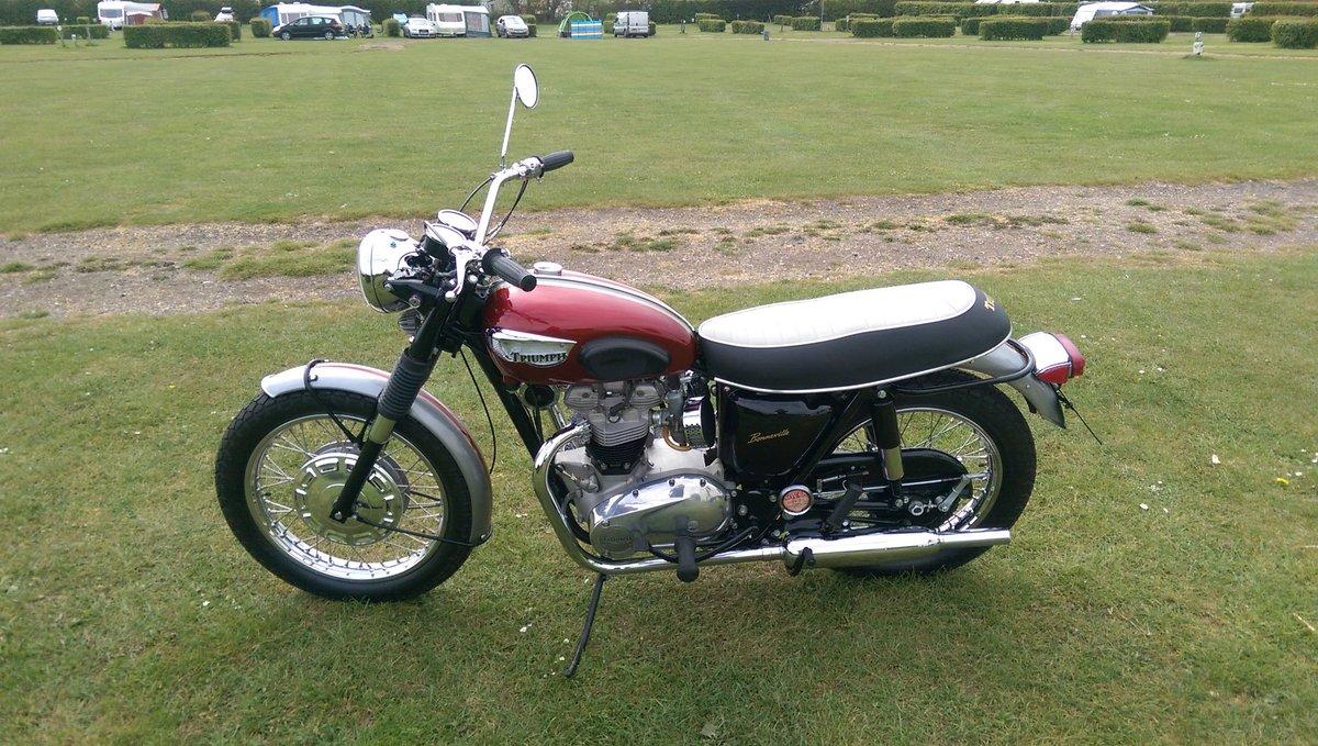 1968 Triumph bonneville 650cc t120r us spec For Sale (picture 3 of 6)