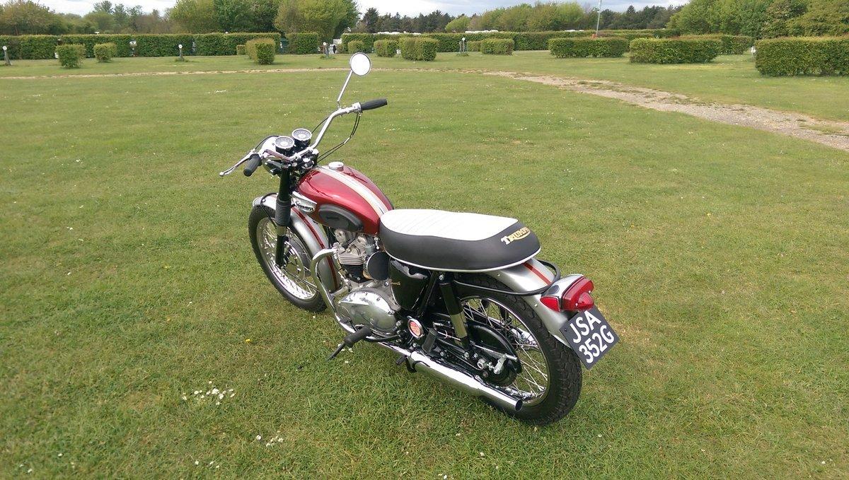 1968 Triumph bonneville 650cc t120r us spec For Sale (picture 6 of 6)