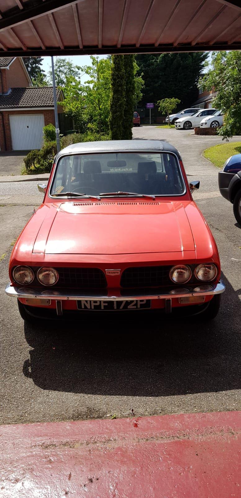 1976 Triumph Dolomite 1850hl For Sale (picture 1 of 6)