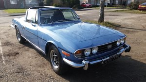 1972 Triumph Stag Manual Overdrive  SOLD
