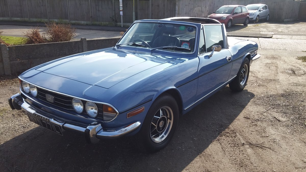 1972 Triumph Stag Manual Overdrive  SOLD (picture 2 of 5)