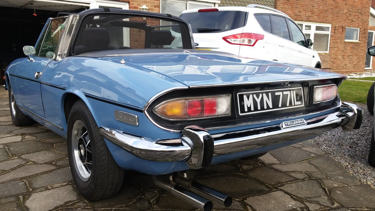 1972 Triumph Stag Manual Overdrive  SOLD (picture 5 of 5)