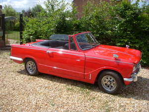 1969 Triumph Vitesse 2 Litre Mark II Convertible  For Sale