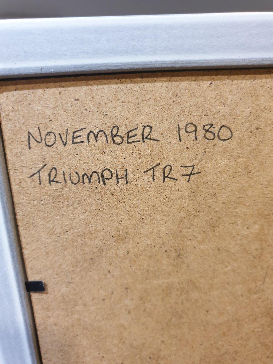 1980 Triumph TR7 Advert Original  For Sale (picture 2 of 2)