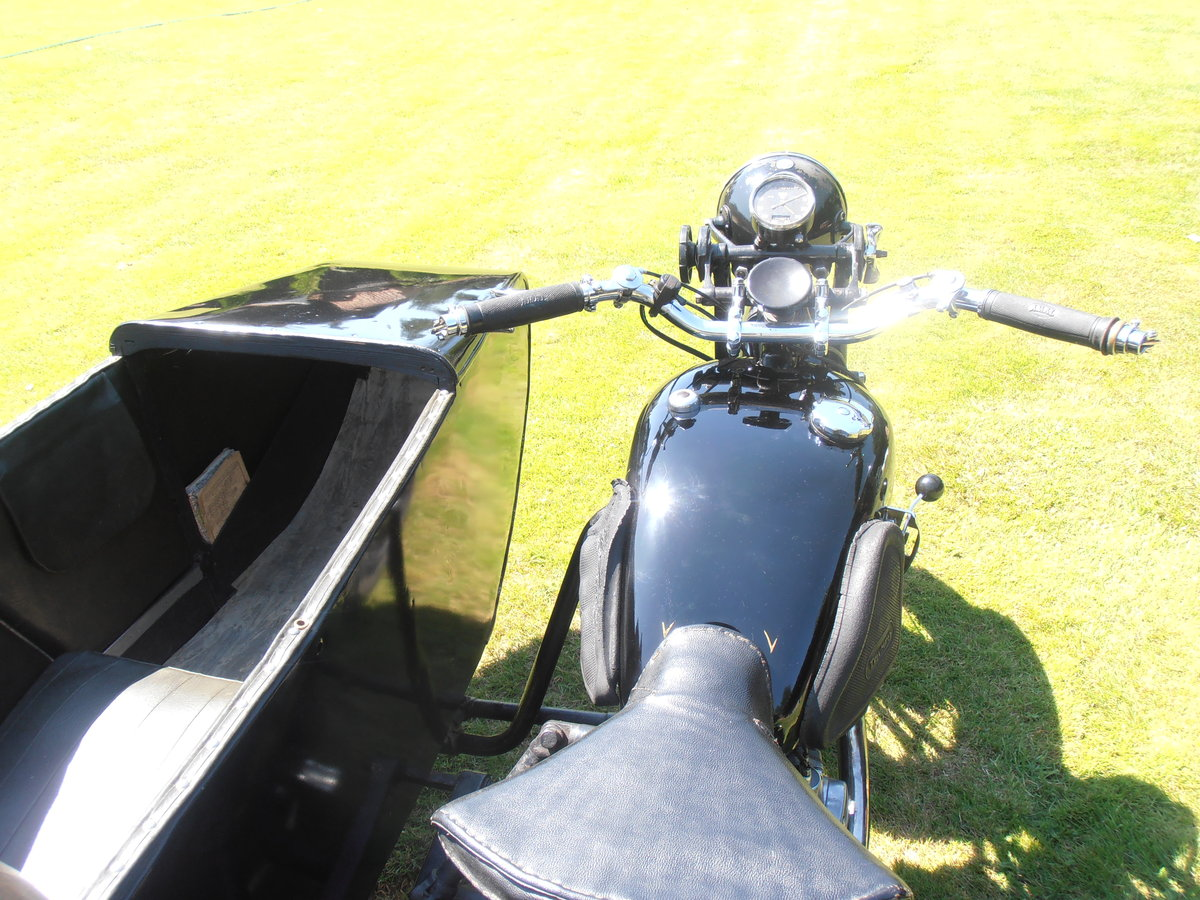 1935 Triumph model 5/1 & sidecar,original,east coast uk For Sale (picture 6 of 6)