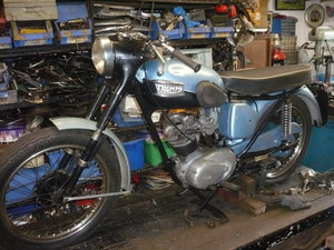 1960 Triumph t20 tiger cub 200cc For Sale