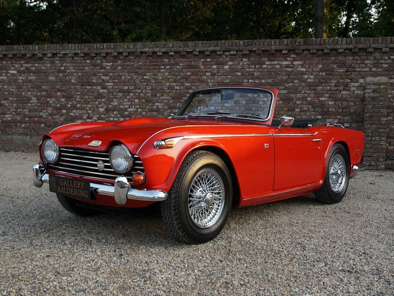 1968 Triumph TR5 TR250 IRS Overdrive For Sale (picture 1 of 4)