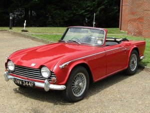 1968 Triumph TR5 PI at ACA 24th August  For Sale
