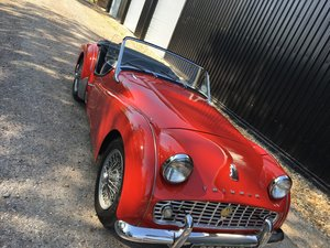 1959 Triumph TR3A for sale in Hampshire ... For Sale